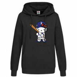 Толстовка жіноча Hello Kitty baseball