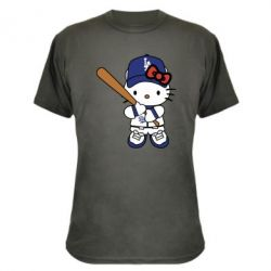 Камуфляжна футболка Hello Kitty baseball