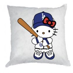 Подушка Hello Kitty baseball