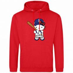 Чоловіча толстовка Hello Kitty baseball