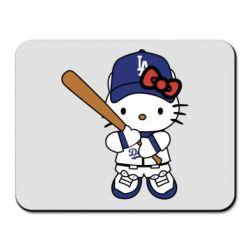 Килимок для миші Hello Kitty baseball