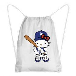 Рюкзак-мішок Hello Kitty baseball
