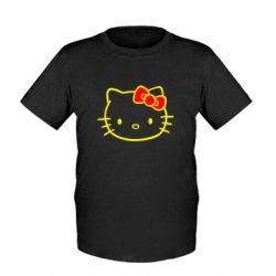 Детская футболка Hello Kitty logo - FatLine
