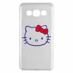 Чехол для Samsung A3 2015 Hello Kitty logo