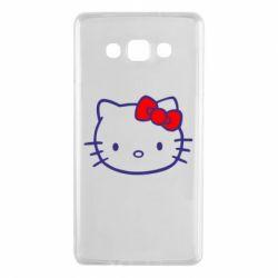 Чехол для Samsung A7 2015 Hello Kitty logo