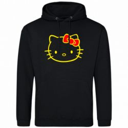 Толстовка Hello Kitty logo - FatLine