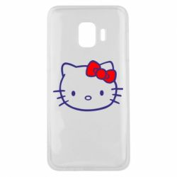 Чехол для Samsung J2 Core Hello Kitty logo