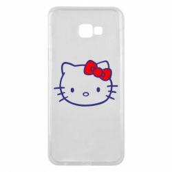 Чехол для Samsung J4 Plus 2018 Hello Kitty logo