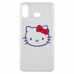Чехол для Samsung A6s Hello Kitty logo