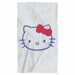 Полотенце Hello Kitty logo