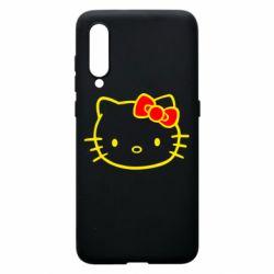 Чехол для Xiaomi Mi9 Hello Kitty logo