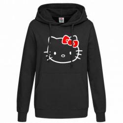 Женская толстовка Hello Kitty logo