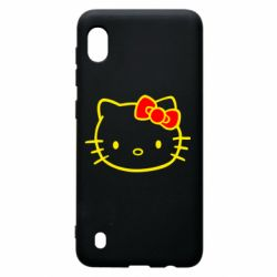 Чехол для Samsung A10 Hello Kitty logo