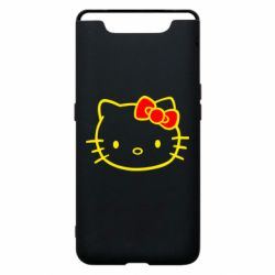 Чехол для Samsung A80 Hello Kitty logo