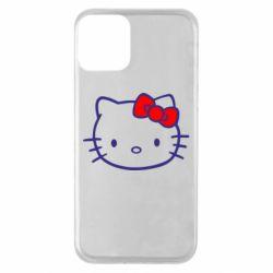 Чехол для iPhone 11 Hello Kitty logo
