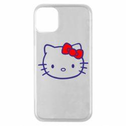 Чехол для iPhone 11 Pro Hello Kitty logo