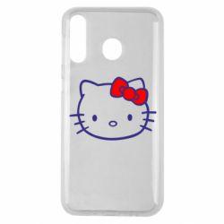 Чехол для Samsung M30 Hello Kitty logo