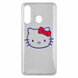 Чехол для Samsung M40 Hello Kitty logo