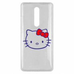 Чехол для Xiaomi Mi9T Hello Kitty logo