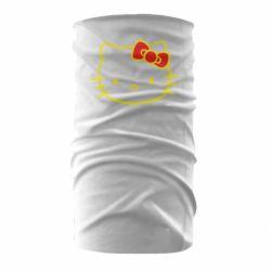 Бандана-труба Hello Kitty logo