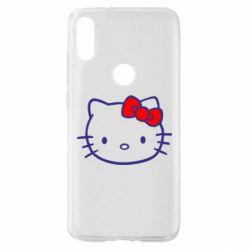 Чехол для Xiaomi Mi Play Hello Kitty logo