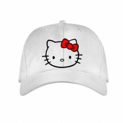 Детская кепка Hello Kitty logo