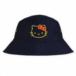 Панама Hello Kitty logo