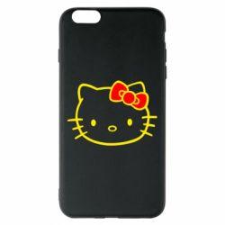 Чехол для iPhone 6 Plus/6S Plus Hello Kitty logo