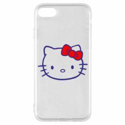 Чехол для iPhone 7 Hello Kitty logo