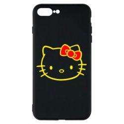 Чехол для iPhone 8 Plus Hello Kitty logo