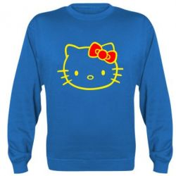 Реглан (свитшот) Hello Kitty logo - FatLine