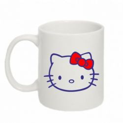 Кружка 320ml Hello Kitty logo - FatLine