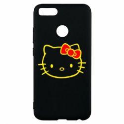 Чехол для Xiaomi Mi A1 Hello Kitty logo