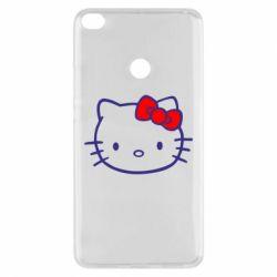 Чехол для Xiaomi Mi Max 2 Hello Kitty logo