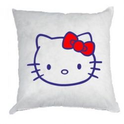 Подушка Hello Kitty logo - FatLine