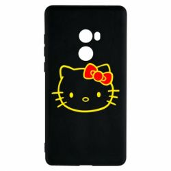 Чехол для Xiaomi Mi Mix 2 Hello Kitty logo
