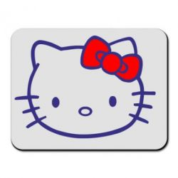 Коврик для мыши Hello Kitty logo