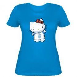 Женская футболка Hello Kitty UA - FatLine