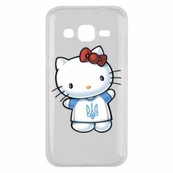 Чехол для Samsung J2 2015 Hello Kitty UA