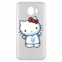 Чехол для Samsung J4 Hello Kitty UA