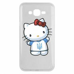 Чехол для Samsung J7 2015 Hello Kitty UA