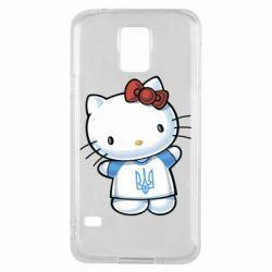 Чехол для Samsung S5 Hello Kitty UA