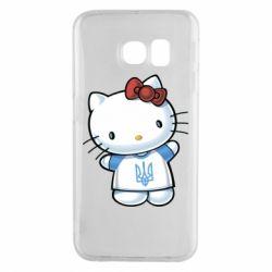 Чехол для Samsung S6 EDGE Hello Kitty UA