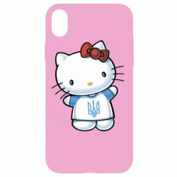 Чехол для iPhone XR Hello Kitty UA