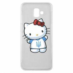 Чехол для Samsung J6 Plus 2018 Hello Kitty UA