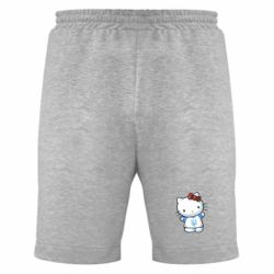 Мужские шорты Hello Kitty UA - FatLine
