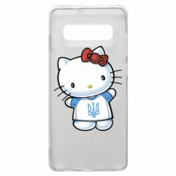 Чехол для Samsung S10+ Hello Kitty UA