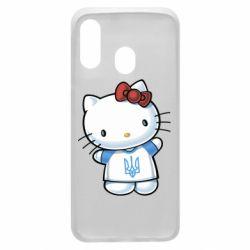 Чехол для Samsung A40 Hello Kitty UA