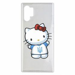 Чехол для Samsung Note 10 Plus Hello Kitty UA