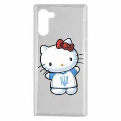 Чехол для Samsung Note 10 Hello Kitty UA